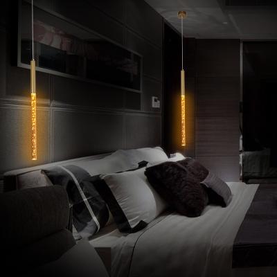Magic LED Pendant Lights Post Modern Bubble Glass Tube Single Led Hanging Pendant Lights