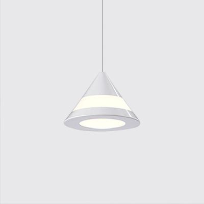 Cone Led Pendant Lights Modern Style Aluminum 1 Light Ceiling