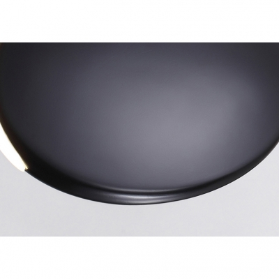 Resin Disc Pendant Light Nordic Style One Light Decorative Restaurant Lighting 6/8 Inch Wide