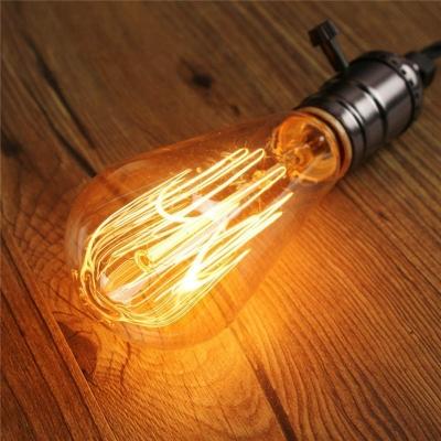 ST64 110V  64*148mm E27 40W  Edison Bulb