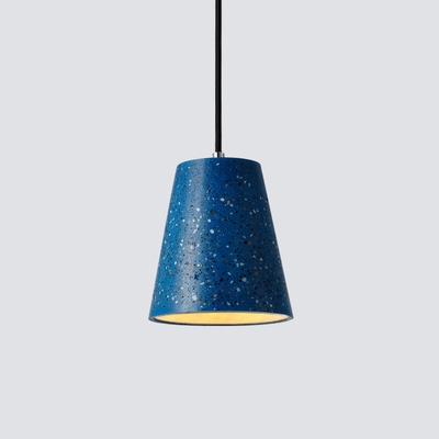 Contemporary Cone Suspended Light Length Adjustable Concrete Ceiling Light for Kitchen Bar