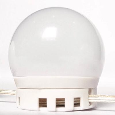 Third Gear Ball Vanity Mirror Light USB Powered Light 10 Bulbs Makeup Lighting Fixture