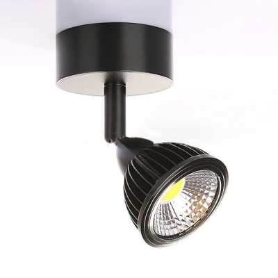 Adjustable 1 Head Dome Wall Light Modernism Metal Spotlight in Warm/White for Corridor