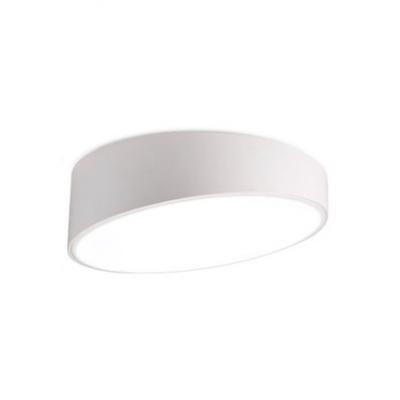 Designers Style Geometric Ceiling Light Acrylic Flush Mount Lighting in White for Bedroom