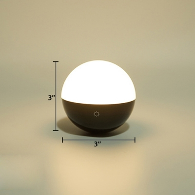 Magnetic Ball Makeup Lighting Fixture Wireless Touch Control LED Vanity Light with USB Charger