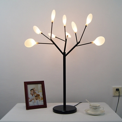 Branch Shape Desk Light Modern Fashion Metal Multi Light Table Light for Study Room