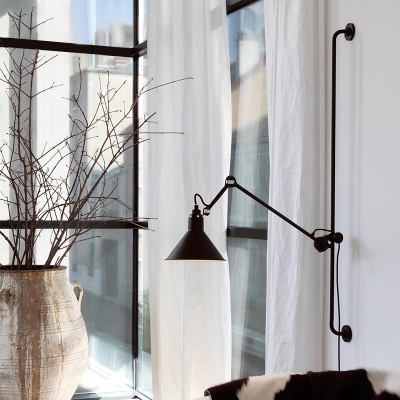 Large Rotatable Conical Wall Lamp