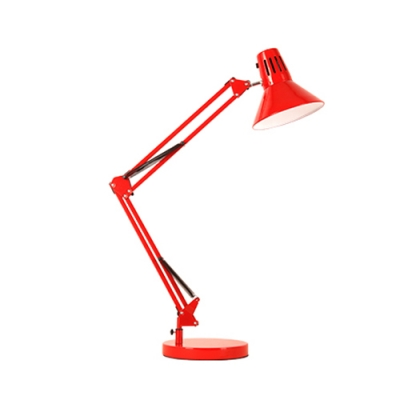 Swing Arm Desk Lights Modern Colorful Metal 1 Head LED Standing Desk Lamp for Children Room