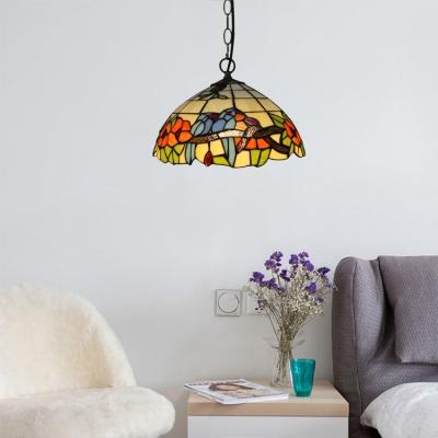 Vintage Art Pendant Light Tiffany 12