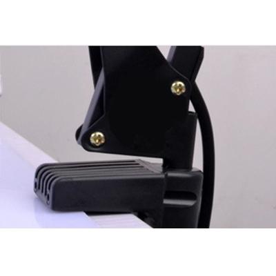 Arm Adjustable Desk Light Modern Design Iron Single Head LED Desk Lighting in Red for Bedside