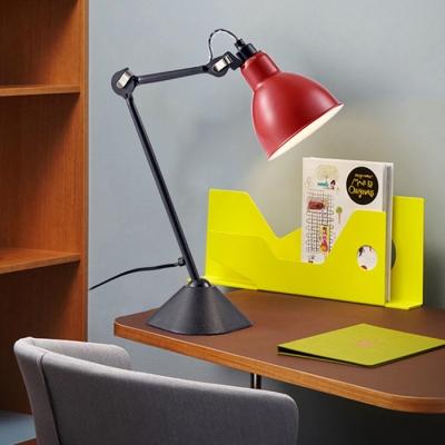 Colorful Modern Swing Arm Desk Light Metal Single Light Standing Desk Light for Kids
