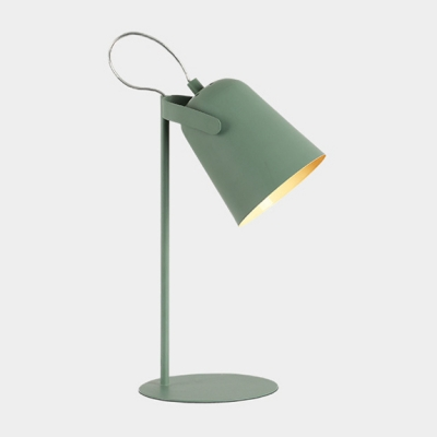 Rotatable Dome Table Light Modern Colorful Metal Desk Lamp for Study Room Living Room