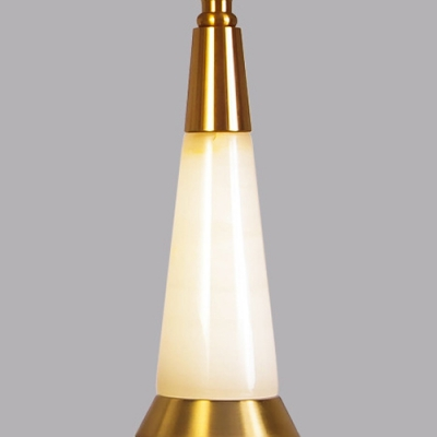 Drum Shade Table Lamp Designers Style Fabric Night Light for Bedroom Hallway Restaurant