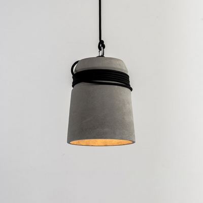 Modern Industrial Down Ceiling Lamp Concrete LED Decorative Pendant Light for Living Room
