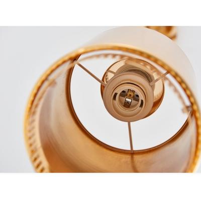 Gold Finish Hand Grenade Drop Light Contemporary Steel 1 Head Art Deco