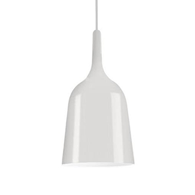 Minimalist LED Wine Pendant Light Metal LED Hanging Lamp for Balcony Exhibition Hall