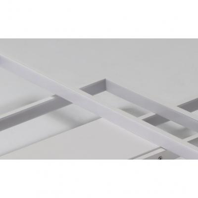 Modernism Rectangle Frame Wall Lamp Acrylic LED Sconce Lighting in White for Living Room