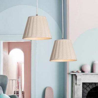 Simple Industrial Castle Mermaid Ceiling Lamp Concrete Height Adjustable Drop Light