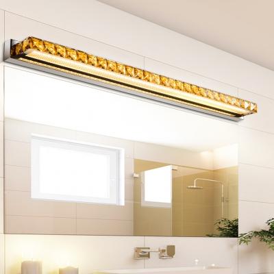 Modern Fashion Bar Makeup Mirror Light Crystal LED Vanity Light for Bathroom Mirror