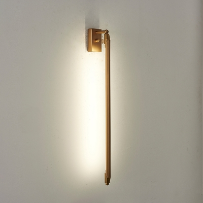 Slim Tube Wall Sconce Stylish Designers Style Aluminum LED Wall Light for Bedroom Corridor