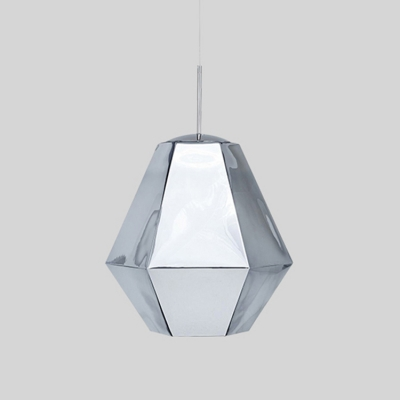 Cut Pendant Light Designers Style Futuristic Adjustable translucent Glass 1 Light Hanging Light