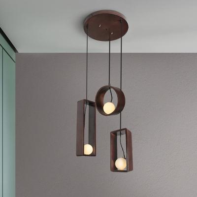 Open Bulb Ceiling Pendant Lamp Modern
