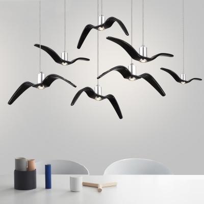 Seagull Led Hanging Lamp Modern Design