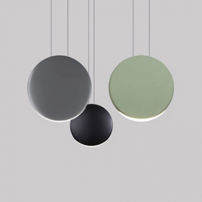 huge discount 2ea5f a037e Nordic Style Round Hanging Light Acrylic 3/4/5 Lights Indoor Lighting