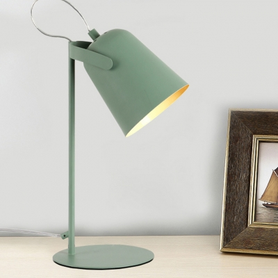 Rotatable Dome Table Light Modern Colorful Metal Desk Lamp For Study