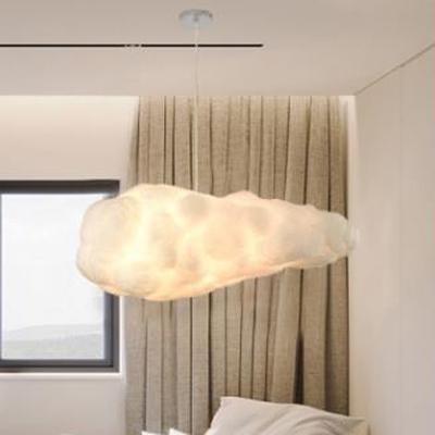 Modern Design Cloud Ceiling Lamp Cotton Decorative Pendant Light for Children Playground