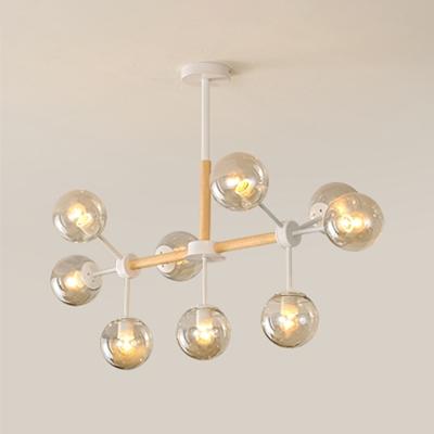 Branch Chandelier Light Modern Chic Gl 9 Hanging For