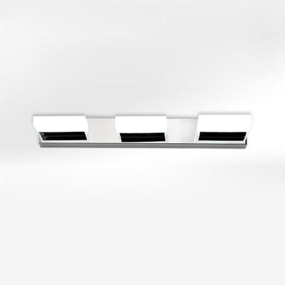 Acrylic Bar Wall Light Simplicity 2/3/5 Lights LED Makeup Lighting Fixture in Warm/White