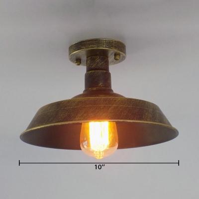 Loft Style Iron 1 Bulb Lighting Fixture