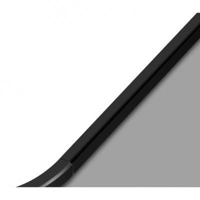 Rectangle Ultra Thin LED Flush Light Modern Design Acrylic Ceiling Fixture in White for Office