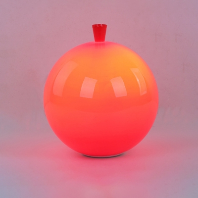 Green/Red Balloon Wall Lamp Plastic Single Head Wall Mount Light for Children Bedroom