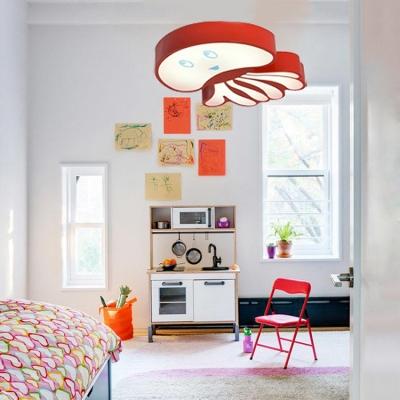 Octopus Hanging Lamp Modernism Colorful Amusement Park Metal LED Ceiling Pendant Light