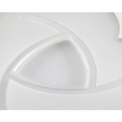 Modern Design Bloom Design Ceiling Light with Round Disc Acrylic LED Flush Light in Warm/White