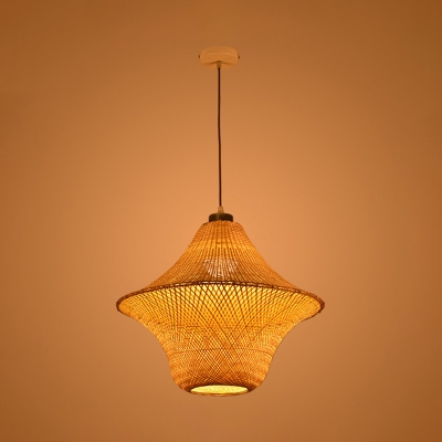 Asian Style Rattan Indoor Lighting, Asian Style Hanging Lamps
