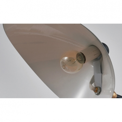 Modern Duckbill Standing Desk Light with Tripod Rotatable Metallic 1 Head Table Lamp in Black