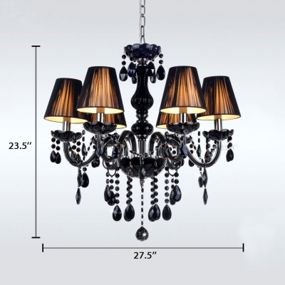 Tapered Chandelier with 12