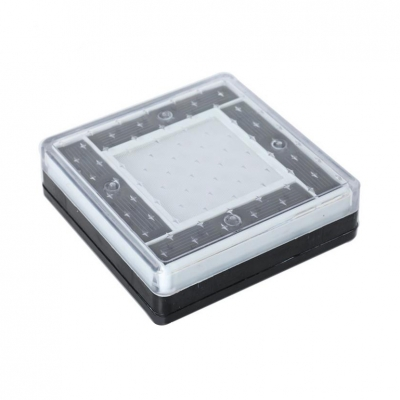 Easy-to-Install Solar Powered Landscape Light Weatherproof LED Ground Light for Yard Deck