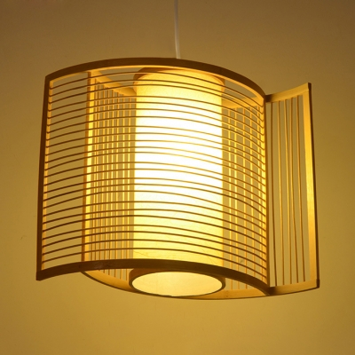 Curved Ceiling Pendant Bedroom 1 Light