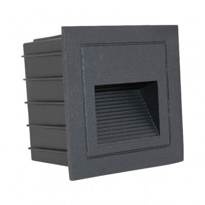 Di facile Installazione punto Luce 1 Confezione Impermeabile Parete Illuminazione in Caldo/Bianco, Garage, Solarium