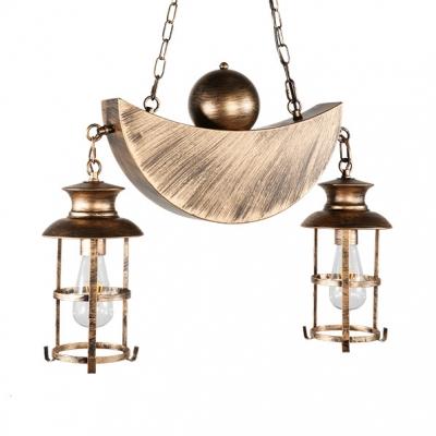Antique Lantern Island Pendant Lights with 31.5