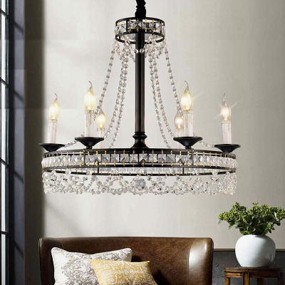 Rustic Candle Chandelier with 16