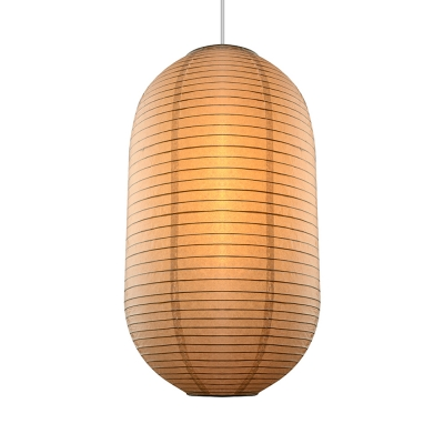Exclusive Paper Mini Pendant Light In White By Designer