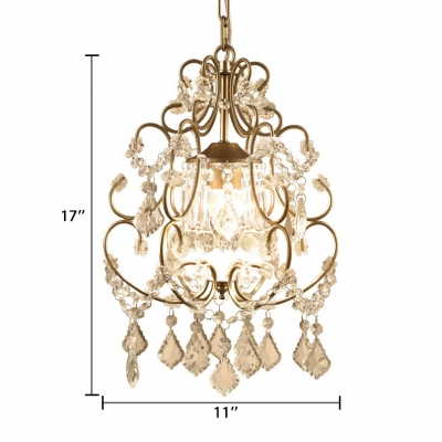 Modern Hanging Chandelier with 19.5