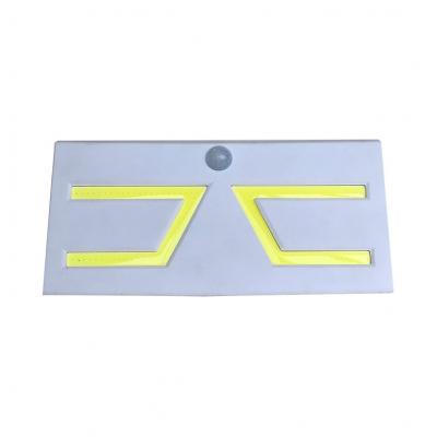 5 W 9 LED Motion Sensor Solar Lights White/Black Waterproof Security Wall Lighting for Patio HL511798 фото