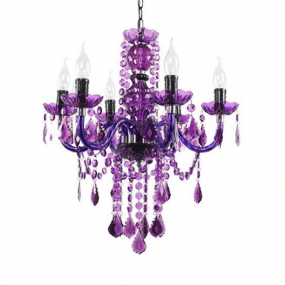 Height Adjustable Chandelier with 18