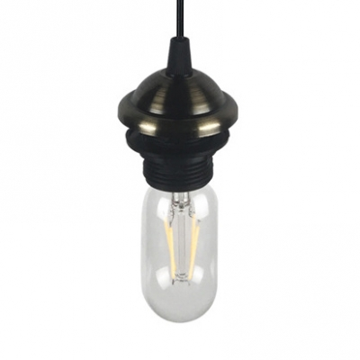 Industrial Open Bulb Pendant Lamp with 39
